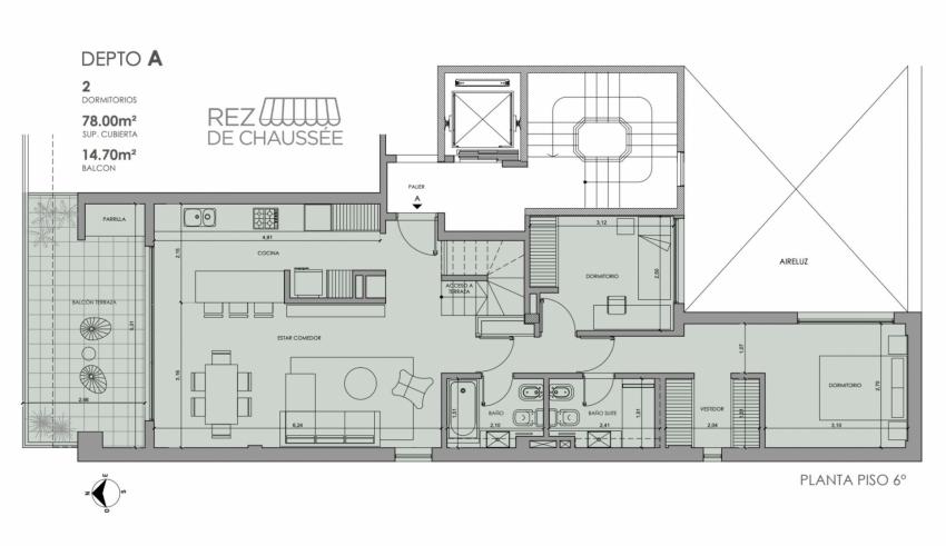 Rioja 2715 6ºA